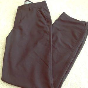 Black Under Armour Golf Pants